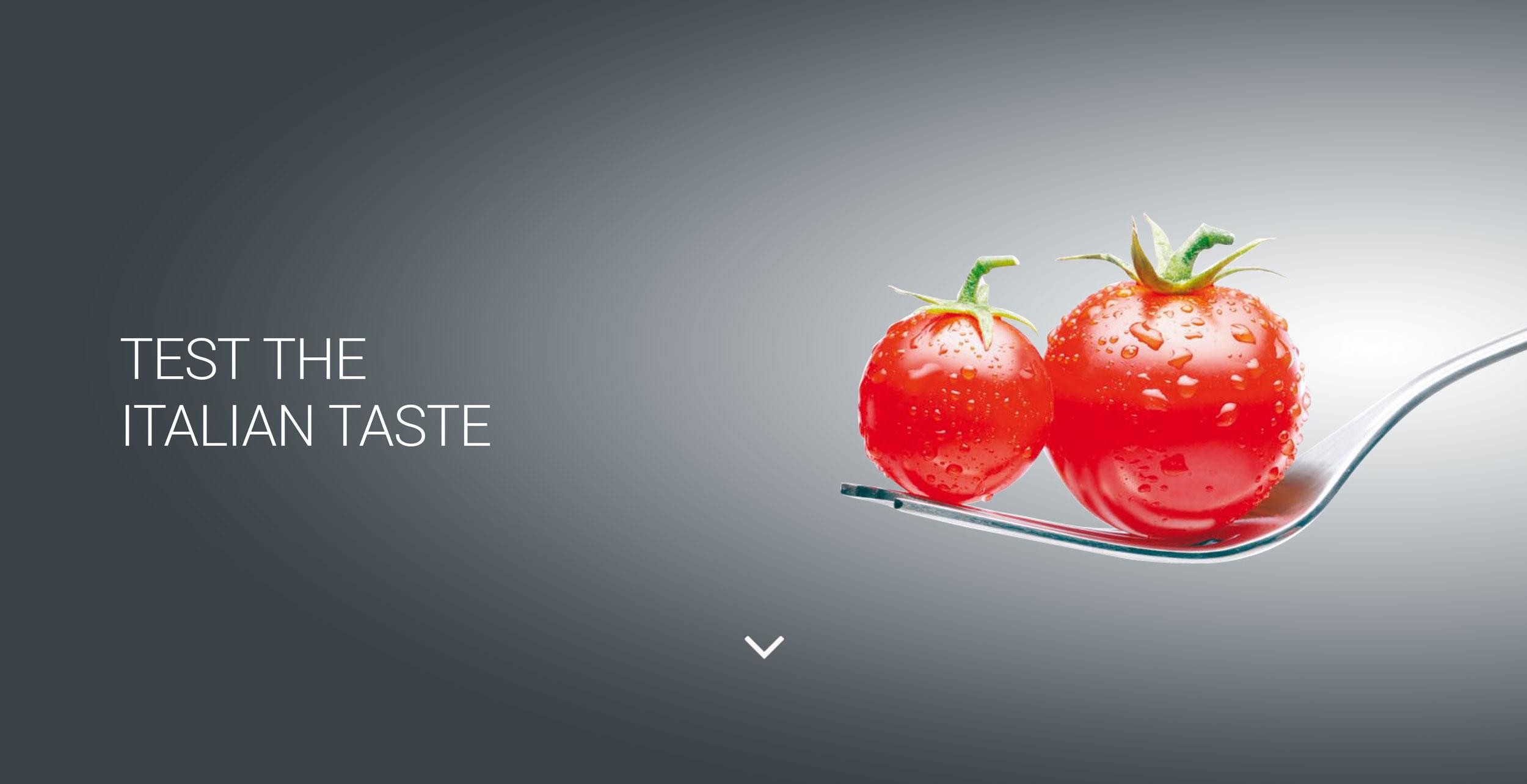 Test the italian taste
