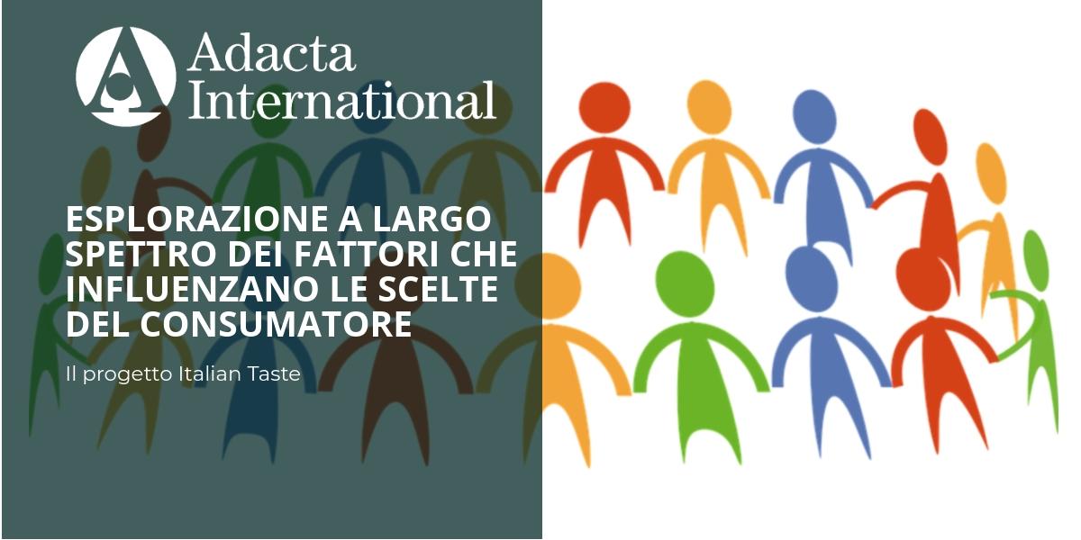 Il progetto italian taste